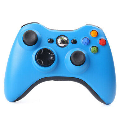 Wireless Game Controller Remote for Microsoft Xbox 360 Gamepad Joypad Blue 1PC