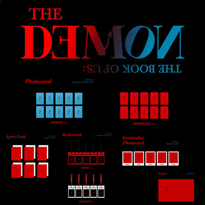 DAY6 THE BOOK OF US : THE DEMO 6th Mini Official [PHOTOCARD / POSTER / ETC]