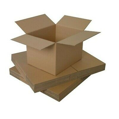 """Postal Packing Cardboard Boxes 9""""x6""""x4"""" Mailing Packaging Cartons"""