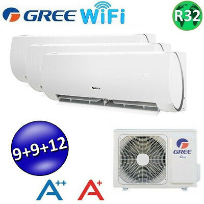 *** GREE MUSE Wifi TRIAL 9000+9000+12000 BTU *** / CLIMATISEUR REVERSIBLE / A++