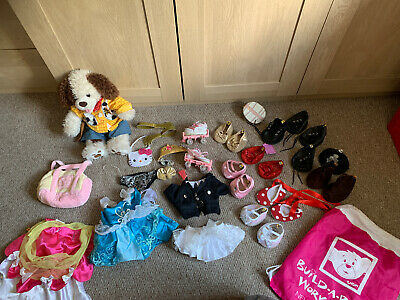 Teddy Bears Shoes fits Build a Bear Teddies Collar Shoes Set Bundle Charms