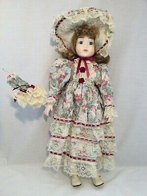 "Vintage CHSN La Collection Artisan 1988 ALLISON 18"" doll limited edition Musical"
