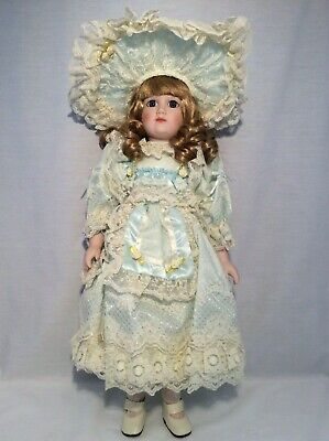 "Vintage CHSN La Collection Artisan 1989 LEANNE 18"" doll limited edition Musical"