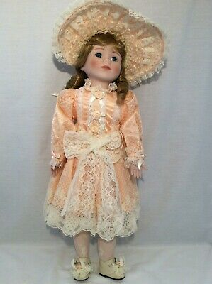 "Vintage CHSN La Collection Artisan 1988 EVETTE 18"" doll limited edition Musical"