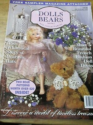Dolls Bears Vol.2 No. 2 And Collectables  Magazine