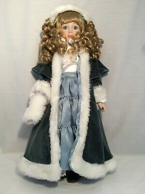"Vintage CHSN La Collection Artisan 1988 BIANCA 18"" doll limited edition Musical"