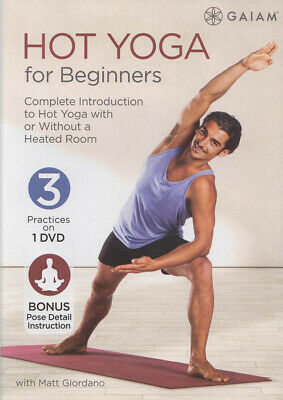 Hot Yoga For Beginners (Dvd)