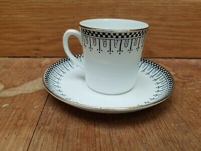 Vintage art Deco Style coffee cup and saucer