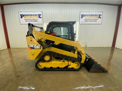 2017 Caterpillar 259D Cab Track Skid Steer Loader With Ac/Heat!