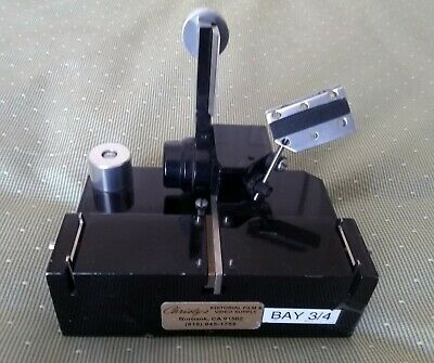 Heavy Duty Professional Vintage Rivas 35mm Motion Picture Splicer Great Cond.