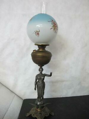 c.1880 Figaro Oil Lamp CONVERTED to Electric