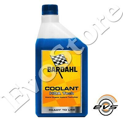 Bardahl Coolant HOA Tech Liquido Additivo Anticongelante Moto Pronto Uso 1 Litro
