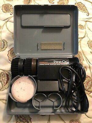Presto Shine-on Home Travel Electric Shoe Polisher. Tested Works Great.