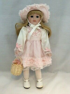 "Vintage CHSN La Collection Heirloom 1988 KRISTY Doll 12"" with box"