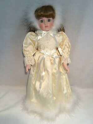 "Vintage CHSN La Collection Artisan 1988 ALISSA 16"" doll limited edition Musical"