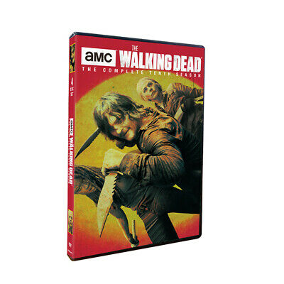 The Walking Dead: DVD Sea son 10 Complete Tenth 4-Disc Set NEW