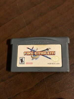 Fire Emblem Gameboy Advance GBA Authentic