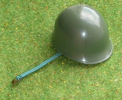 VINTAGE ACTION MAN 40th LOOSE COMBAT ACTION SOLDIER GREEN HELMET from ENGINEER