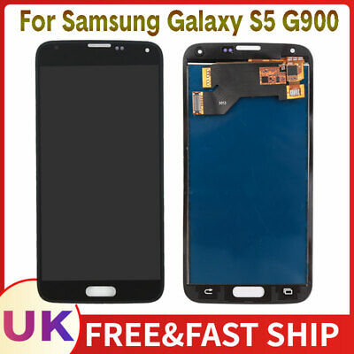 Screen For Samsung Galaxy S5 i9600 G900F LCD Replacement Touch Digitizer Black