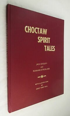 Choctaw Spirit Tales Signed Limited Edition Terry Saul Drawing Association Copy