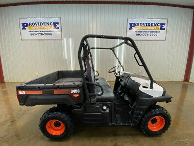 2014 Bobcat 3400 Utility Vehicle With A Gas Engine, 4X4!