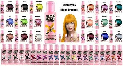 💖Crazy Color Semi Permanent Hair Color Cream 100ml💖
