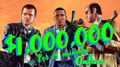 Gta 5 $10,000,000 10 MILLION XBOX ONE MONEY Safe And Reliable
