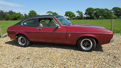 1977 Ford CAPRI II 3000 GHIA MANUAL Coupe Petrol Manual