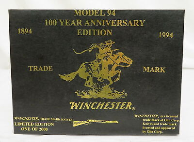 Winchester Model 94 100 Year Anniversary Edition - 3 Knife Set