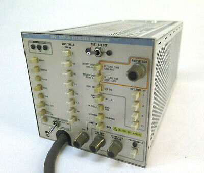Tektronix 067-0807-00 DVST Display Exerciser