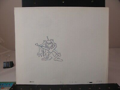 Great Lot of 12 pencil drawings  Bakshi's Wizards circa 1977
