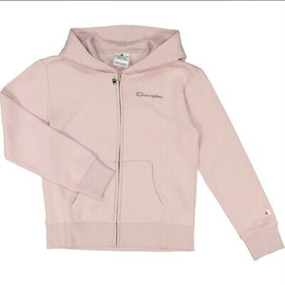CHAMPION Girls Light lilac/Pink Zip Up Hoodie *Age 7/8 years old (126/131cm) NWT