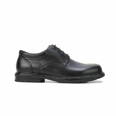 Mens HUSH PUPPIES DALY Black EXTRA WIDE FORMAL//DRESS//WORK//LEATHER SHOES