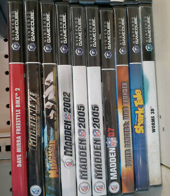Bulk GameCube Games Pick and Choose Your Title Discounts on Multiple Shipping $1
