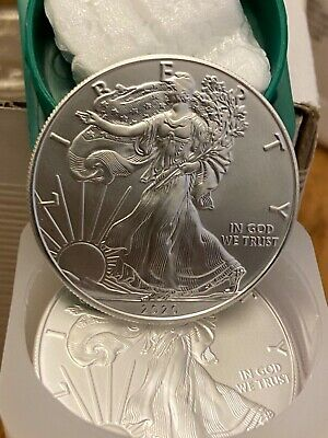 2020 American Silver Eagle Coins FRESH GEM BU 1 oz .999 Fine $1 NEW