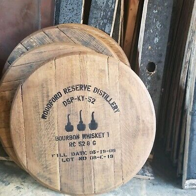 Woodford Reserve Kentucky Bourbon Barrel Heads Blantons Ky Whiskey Lid Sign Tops