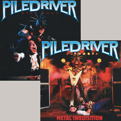 2CD Set PILEDRIVER - Stay Ugly + Metal Inquisition