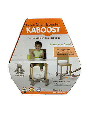 New Kaboost Portable Chair Booster - 2 Heights