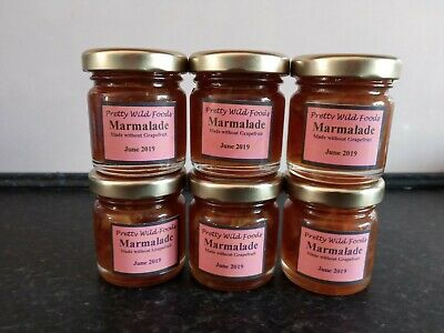 special offer...Set of 6 x 40g jars of marmalade - Homemade and delicious