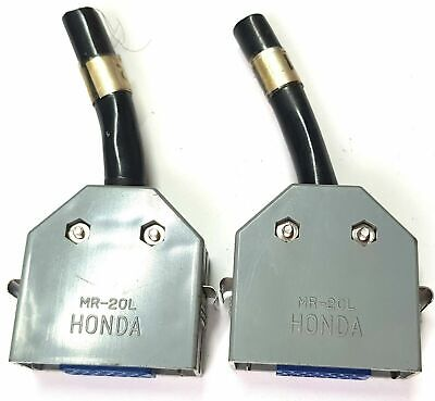 Used - Honda Cable Connector, MR-20L, Female Connector - 2 Units for Fanuc