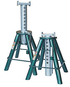 SAFEGUARD 63102 10 Ton Higher Lift Stands - Pair