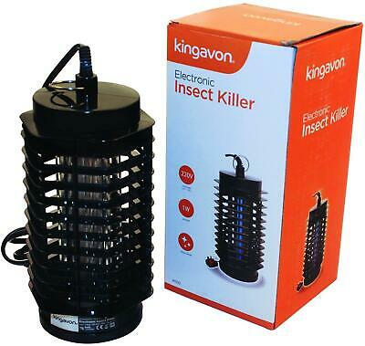 Kingavon Electric Ultra Violet Light Flying Insect Killer Flies Bugs Moths Home