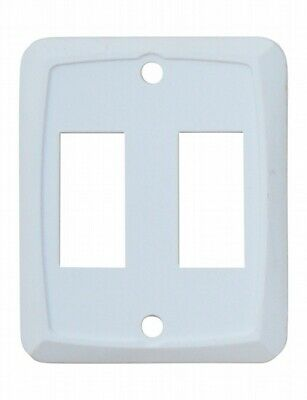 Valterra DG201VP Switch Plate Cover Diamond Group Double Opening