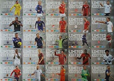 Panini Adrenalyn Xl Euro 2020 Limited Edition (Not Xxl Not Road To Euro)