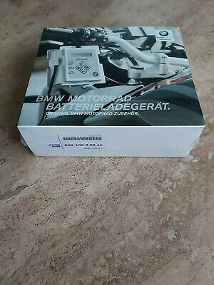 BMW Motorrad Battery Charger, Genuine (New/Sealed)