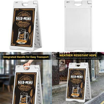 16 X 26 Portable Folding A-Frame Sidewalk Signboard Double Sided