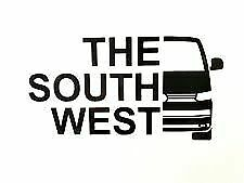 VW T5.1 Transporter /'The South West/' Vinyl Decal Sticker