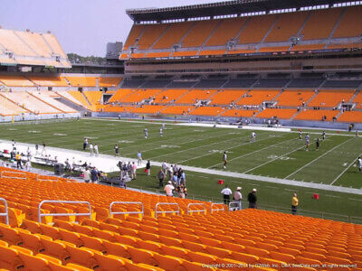2 TICKETS NEW ORLEANS SAINTS @ PITTSBURGH STEELERS 8/23 *Sec 138 Row R AISLE*