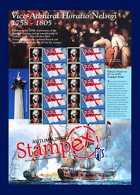 BC-070 10X1st Stampex - Autumn 2005 Smiler Sheet Unmounted Mint MNH bbvl