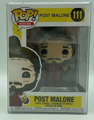 Funko Pop Rocks: Post Malone #111 Figure Vinyl In-Stock with protector